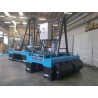 Remote controlled electric/hydraulic dredge