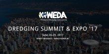 Cumbre y Exposición de Dragado WEDA '17