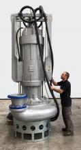 La mas grande bomba eléctrica EL300 de Dragflow